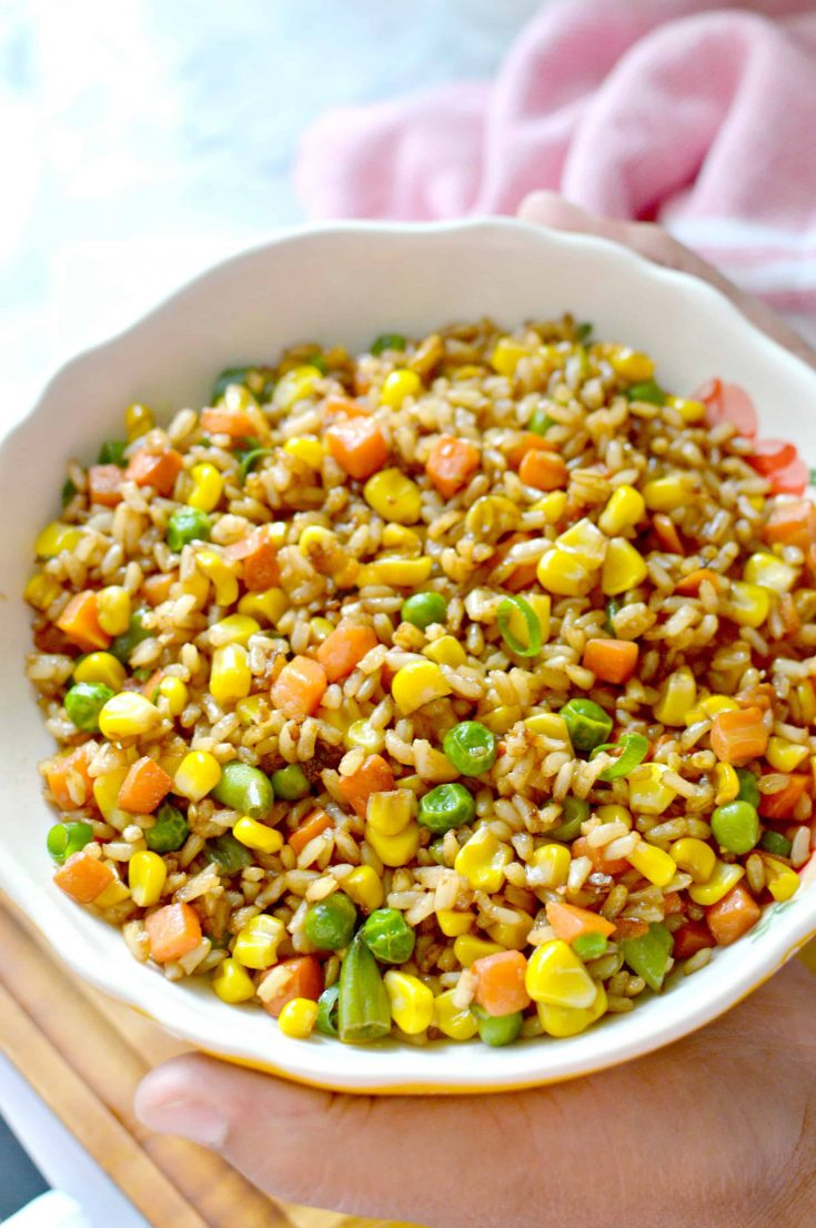 Easy To Make Veggie Fried Rice