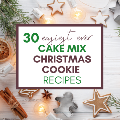 30+ Easiest Ever Cake Mix Christmas Cookie Recipes
