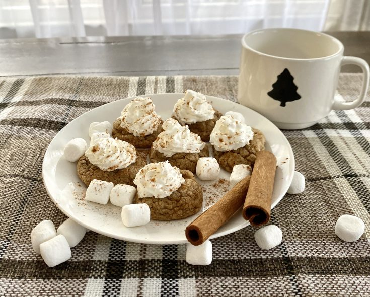 Easy Gingerbread Latte Cake Mix Christmas Cookie