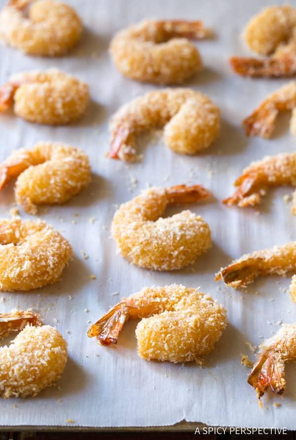 Paleo Coconut Shrimp Recipe