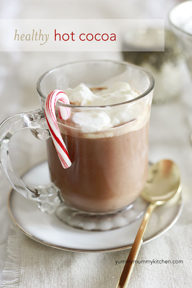 Healthy Peppermint Hot Chocolate Recipe