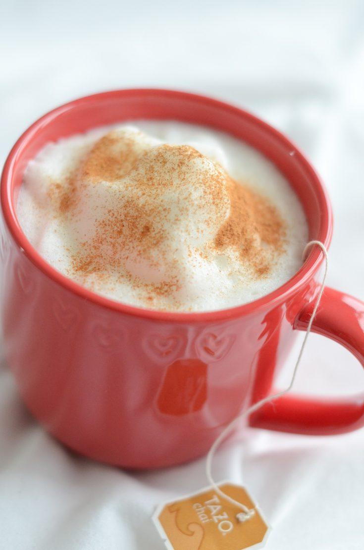 Healthy Chai Tea Latte Recipe