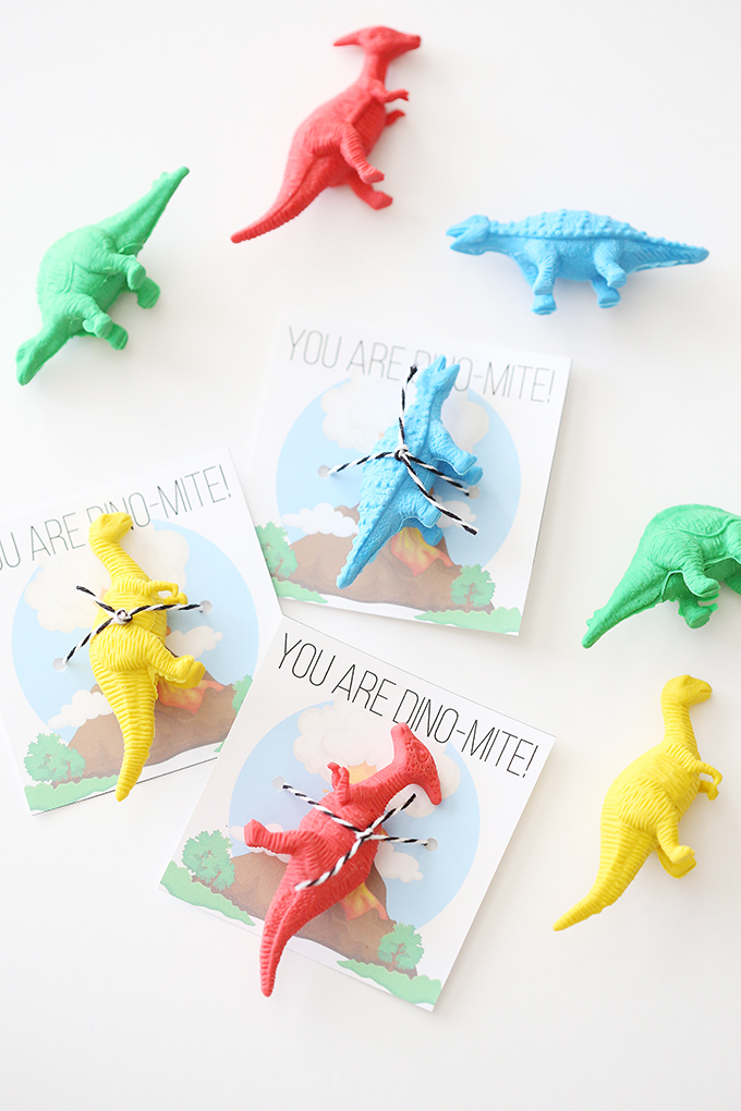 Printable Dinosaur Cards for Kids