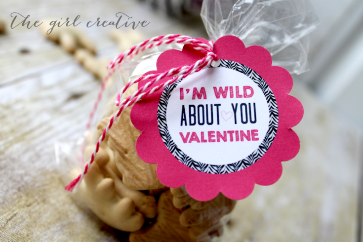I'm Wild About You Valentine + Free Printable