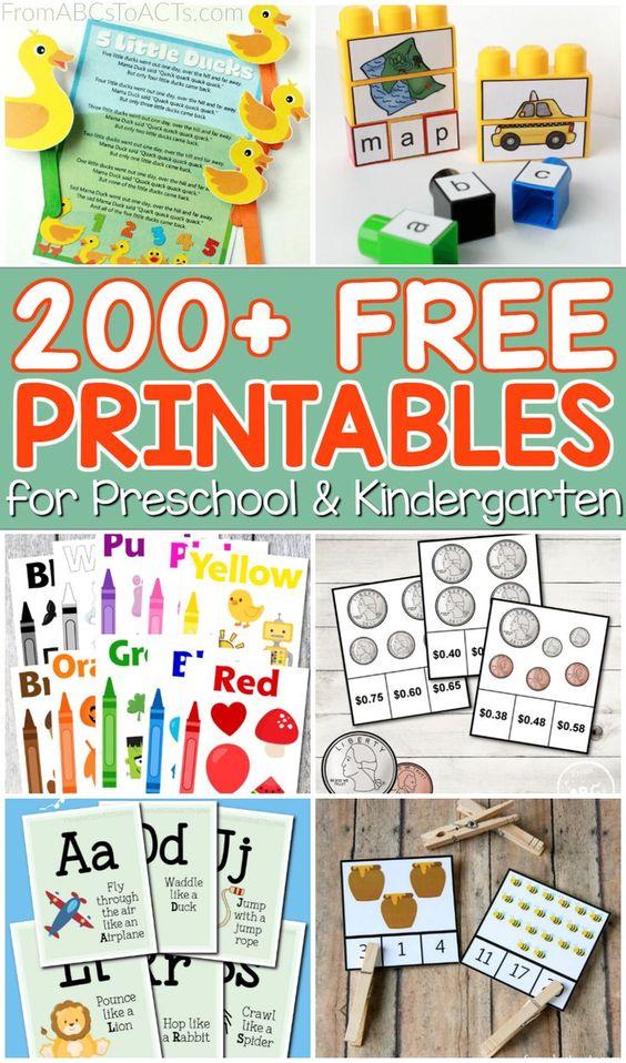 25 Phenomenal (& Free) Preschool Homeschool Resources for ...