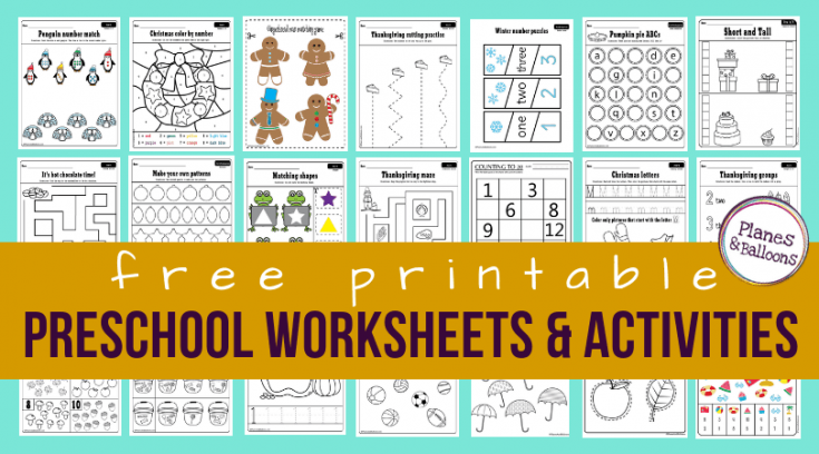 25 Phenomenal (& Free) Preschool Homeschool Resources For Activities And  Printables - A Hundred Affections