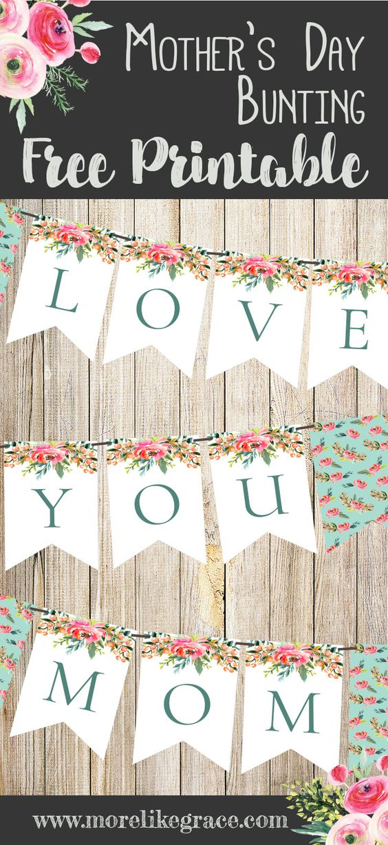 25 Easy Free Printable Mother's Day Crafts (Cards & Gifts ...